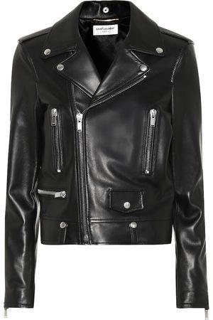 Saint Laurent Damen Lederjacken - Jacke aus Leder