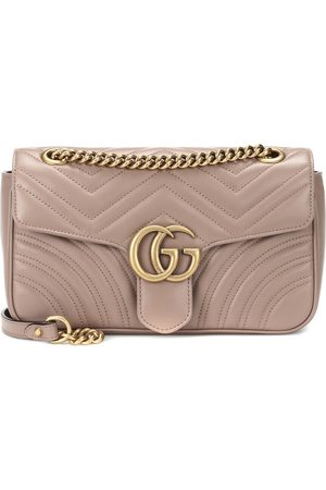 Gucci Damen Handtaschen - Schultertasche GG Marmont Small