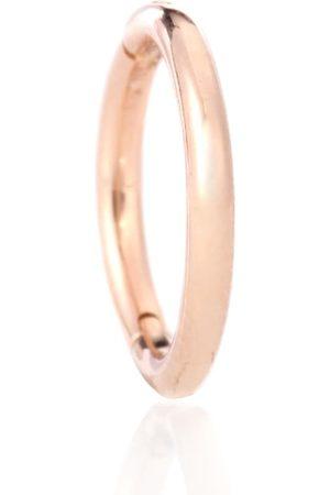 Maria Tash Einzelner Ohrring Plain Ring aus 14kt Roségold