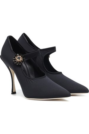 Dolce & Gabbana Verzierte Mary-Jane-Pumps