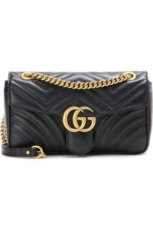 Gucci Schultertasche GG Marmont aus Matelassé-Leder