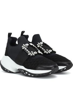 Roger Vivier Verzierte Sneakers Viv' Run
