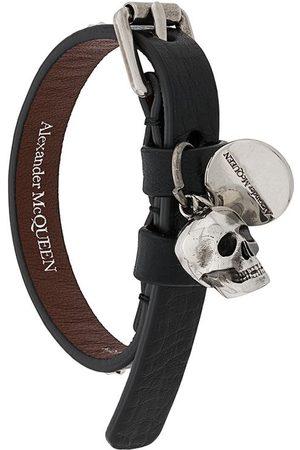 Alexander McQueen Armband mit Totenkopf