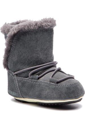 Moon Boot Schneeschuhe - Crib Suede 34010300002 Dark Gray