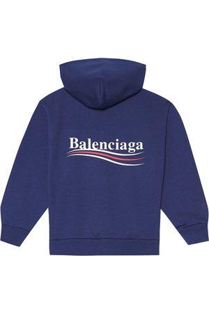 Balenciaga Kids Hoodie mit Baumwollanteil