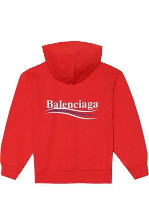 Balenciaga Kids Hoodie aus einem Baumwollgemisch