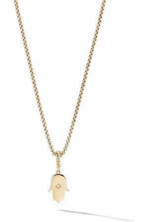David Yurman 18kt 'Amulets' Gelbgoldanhänger mit Diamanten