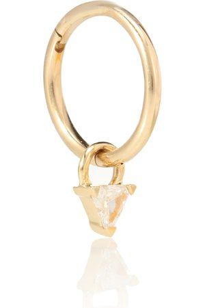 Maria Tash Einzelner Ohrring aus 18kt Gelbgold mit Diamant