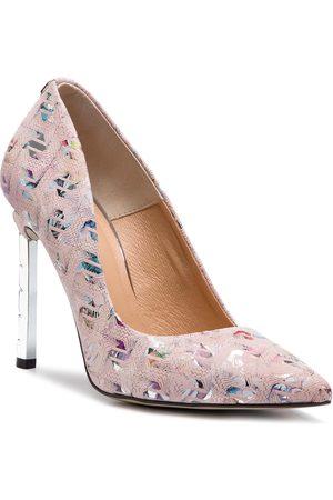 R. Polański High Heels R.POLAŃSKI - 0808 Bolt Różowy