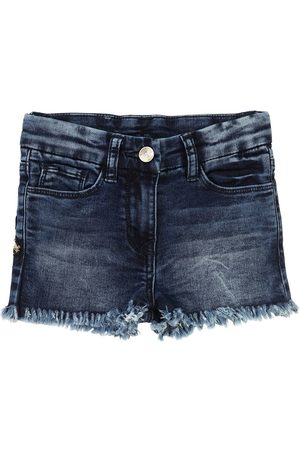 MONNALISA Shorts Aus Stretch- Mit Pailletten
