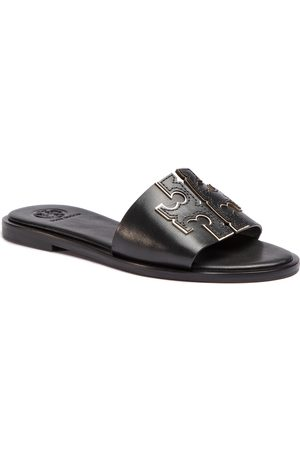 Tory Burch Ines Slide 50109 Perfect Black/Silver 043