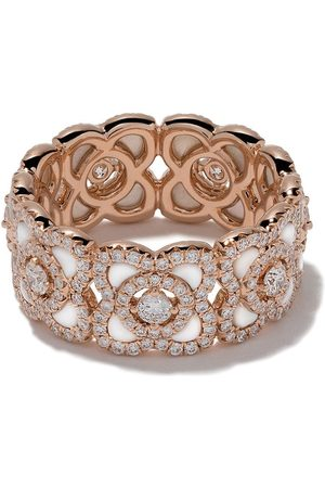 De Beers 18kt 'Enchanted Lotus' Rotgoldring mit Diamanten