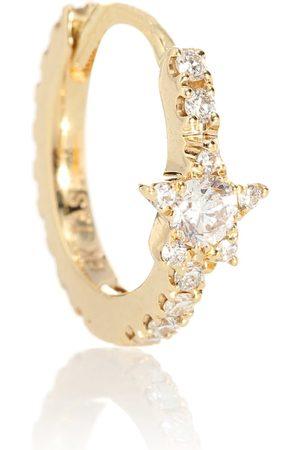 Maria Tash Einzelner Ohrring Diamond Star Eternity aus 18kt mit Diamanten