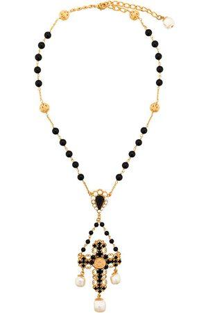 Dolce & Gabbana Halskette mit verziertem Kreuz