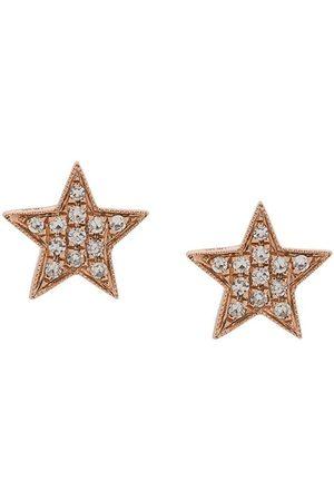 Dana Rebecca Designs 14kt 'Julianne Himiko' Rotgoldohrringe mit Diamanten