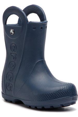 Crocs Jungen Gummistiefel - Handle It Rain Boot Kids 12803 Navy