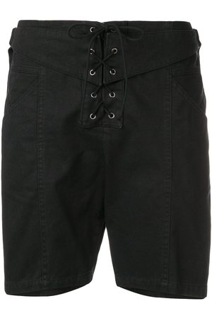 Saint Laurent Shorts mit Schnürung