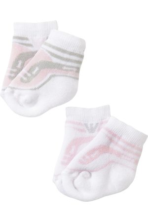 Armani 2 Paar Socken Aus Baumwollstrick