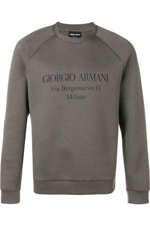 Armani Sweatshirt mit Logo-Print
