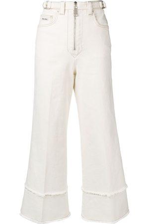 Miu Miu Cropped-Jeans