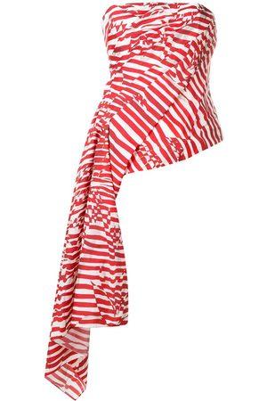 HALPERN Damen Tops & T-Shirts - Drapiertes Top