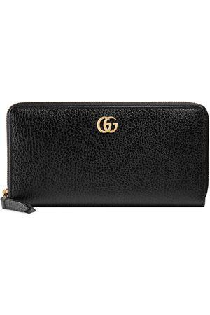 Gucci Brieftasche mit Rundumreißverschluss aus Leder