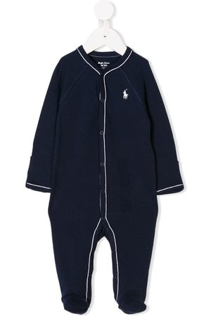 Ralph Lauren Pyjama mit Logo-Stickerei