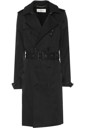Saint Laurent Trenchcoat mit Baumwollanteil