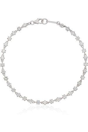 Jade Trau 18kt 'Penelope' Weißgoldarmband mit Diamanten