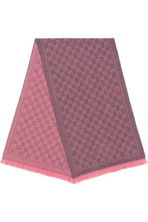 Gucci Damen Schals - Wollschal mit Monogrammmuster