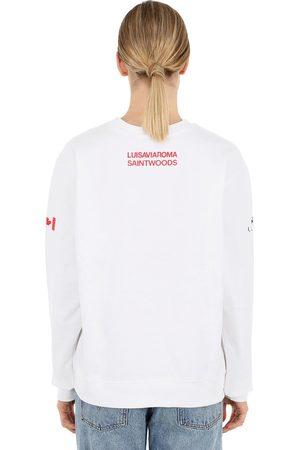 SAINTWOODS Luisaviaroma Logo Crewneck Sweatshirt