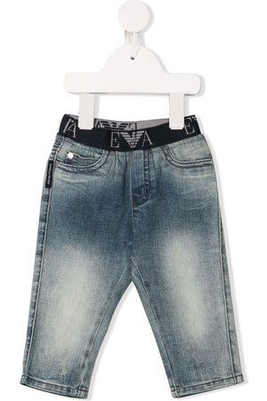 Emporio Armani Cropped - Jeans mit Stretchbund