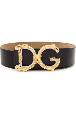 Dolce & Gabbana Damen Gürtel - Gürtel mit verzierter Schnalle
