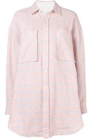 FAITH CONNEXION Damen Blusen - Kariertes Oversized-Hemd