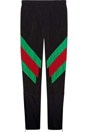 Gucci Herren Jogginghosen - Intarsien-Leggings mit Web