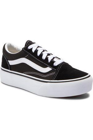 Vans Turnschuhe - Old Skool Platfor VN0A3TL36BT1 Black/True White