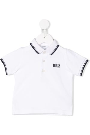 HUGO BOSS Poloshirt mit Streifenborten