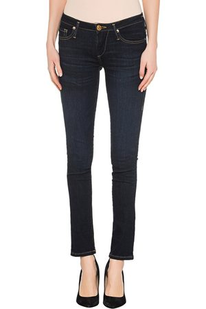 True Religion Damen Skinny - New Halle Tencel Navy
