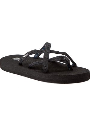 Teva Damen Flip Flops - Olowahu 6840 Mix B Black On Black