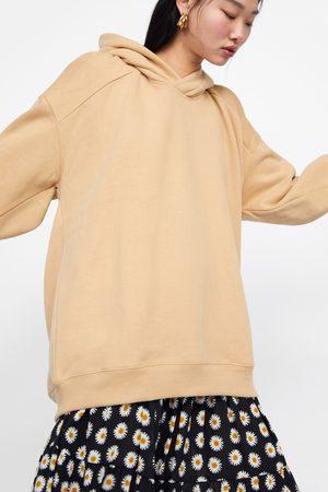 Zara Oversize-kapuzensweatshirt
