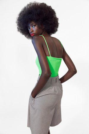 Zara Trägerbody in neonfarbe