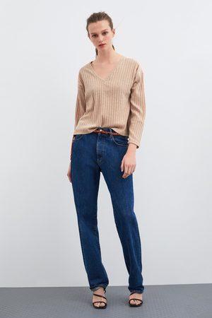 Zara Shirt mit strukturmuster