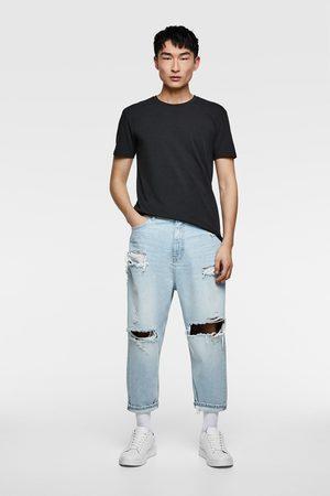 Zara Loose-fit-jeans im cropped-schhnitt