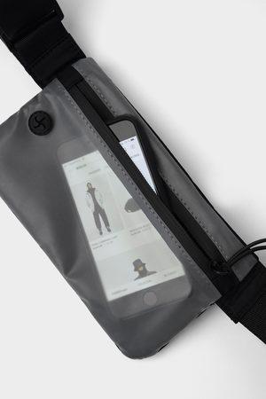 Zara Transparente gürteltasche mit touch-funktion