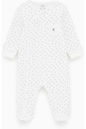 Zara Pyjama mit sternenmotiv