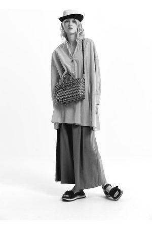 Zara Gestreiftes oversize-hemd