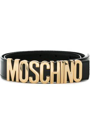 Moschino Ledergürtel mit Logo-Detail