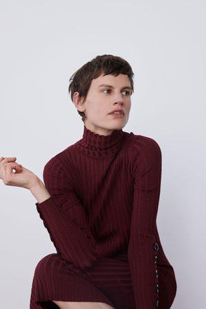 Zara Langes rippkleid
