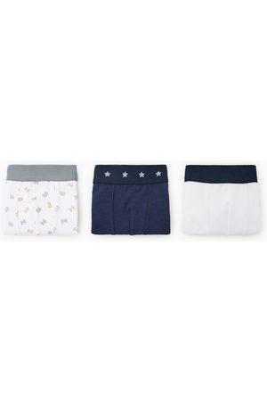 Zara 3er-pack boxershorts mit buchstaben