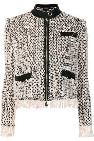 Armani Damen Jacken - Gewebte Jacke mit Reißverschluss